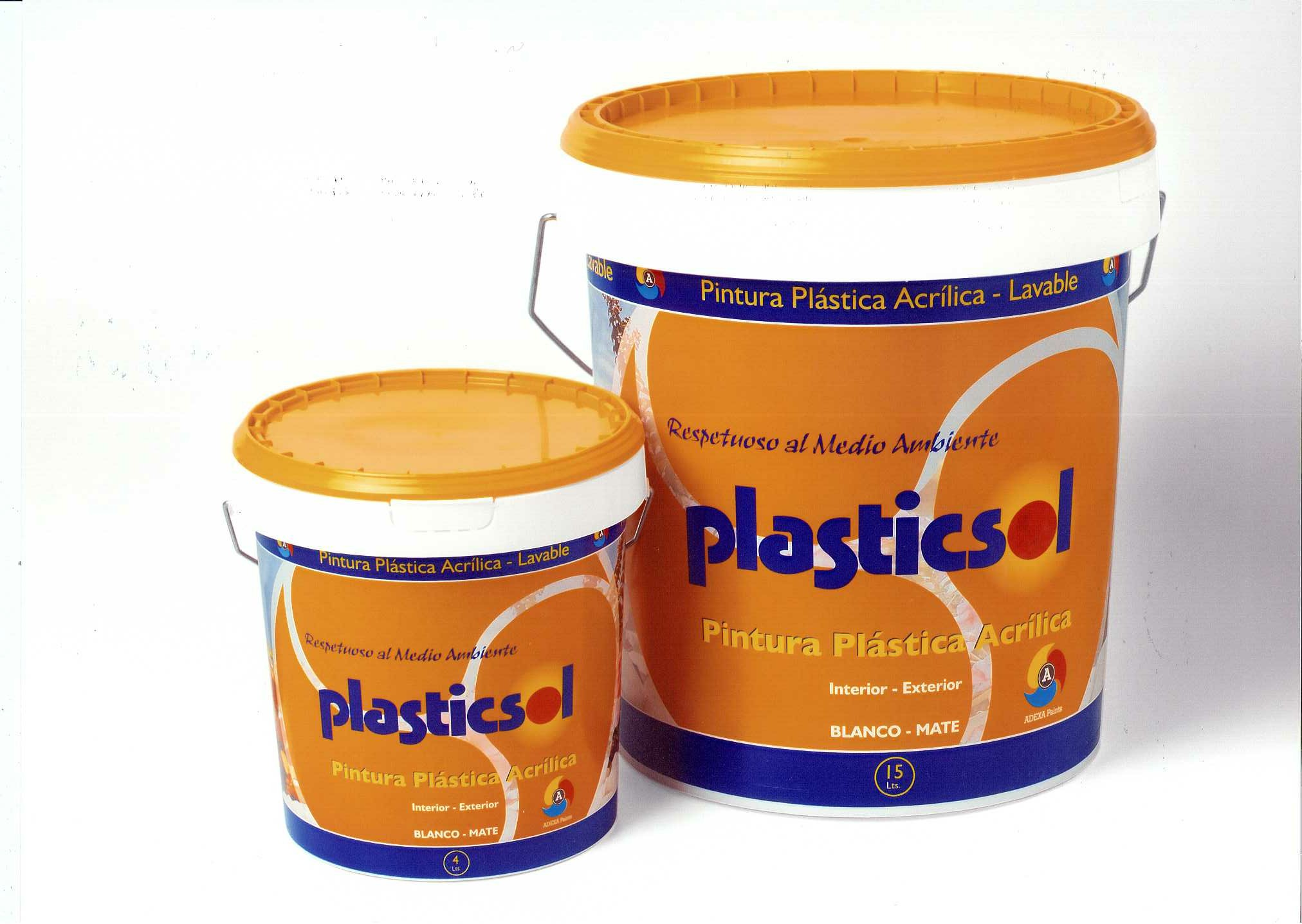 Adexa paints fabrica de pinturas y barnices for Pintura plastica interior